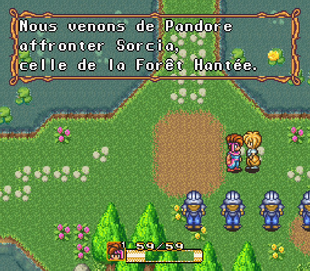 Secret of Mana Solution