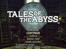 Test Tales of Abyss